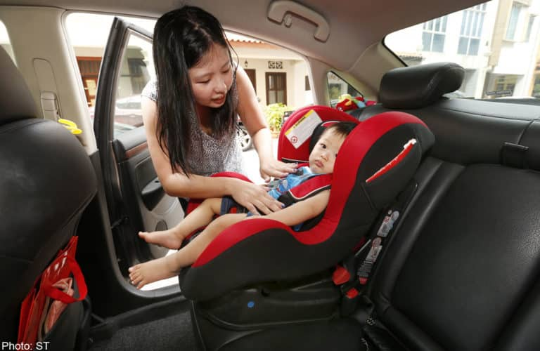Carrying A Baby Don T Be Offended If An Uber Or Grab Driver Rejects